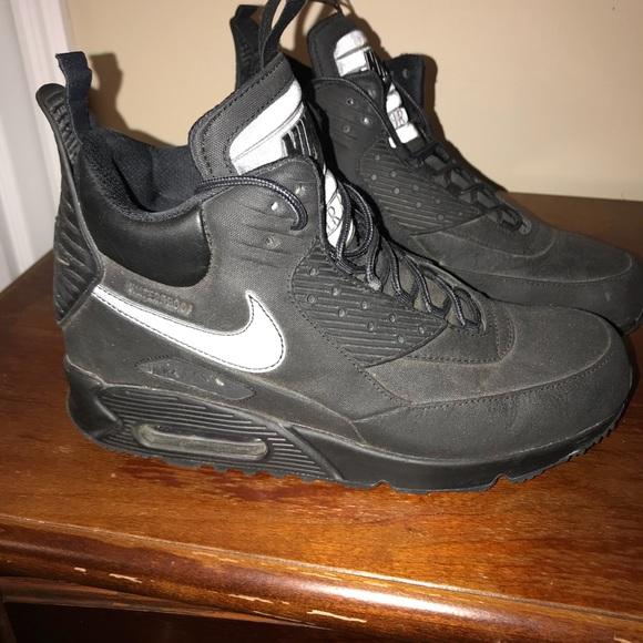 Nike Shoes Air Force 1 High Tops Black 95 Poshmark